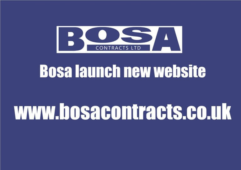 Bosa Launch New Website!