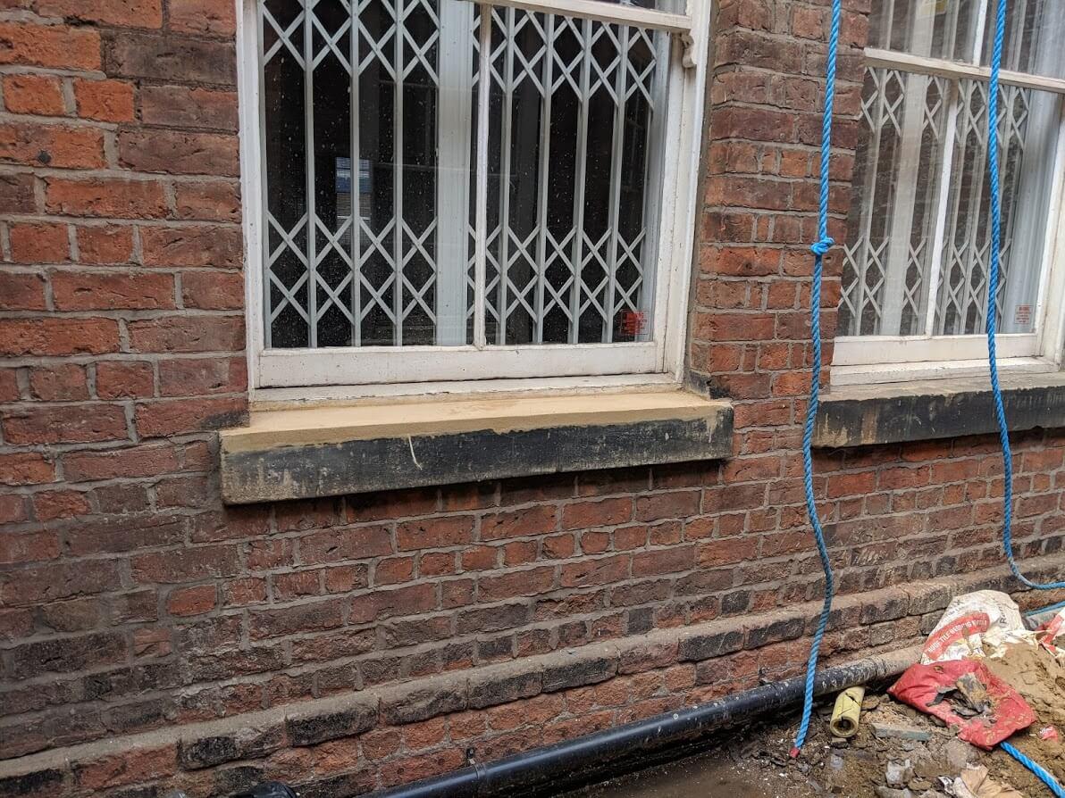 Stone work repairs